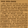 Vale dos Ovos, Chão de Maçãs, abastecimento de água