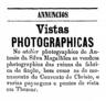 António da Silva Magalhães, Fábrica de Fiação - incêndio e ruínas, fotografia