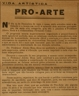 Pró-Arte, música